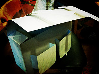 Brompton用バッグ型紙