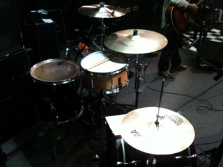Gretsch Brothers ドラムセッティング