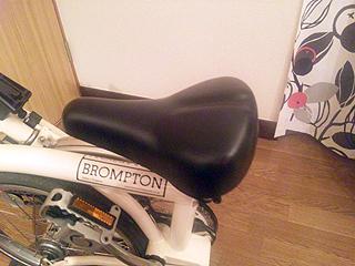 BROMPTON純正サドル(2009年モデル)
