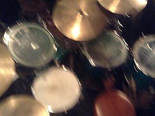 Miss Youのドラムセット