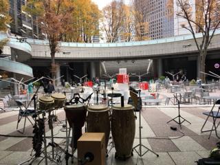 この日の会場、新宿アイランドタワー