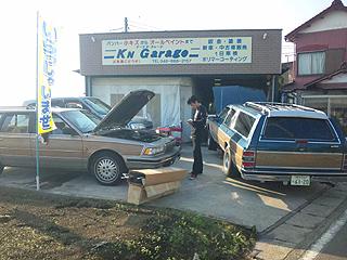 山口さんの車、やっぱデカい