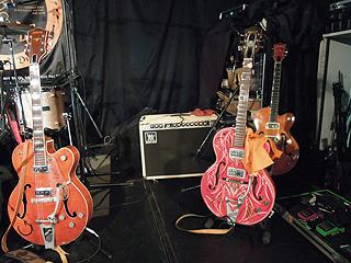 日野さん、山口さんのギター