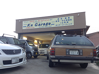 KNガレージに入庫です。。。