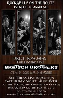 GRETSCH BROTHERS in Rockabilly On The Route