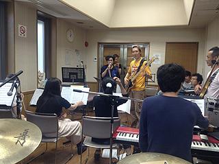 Soul Band リハーサル