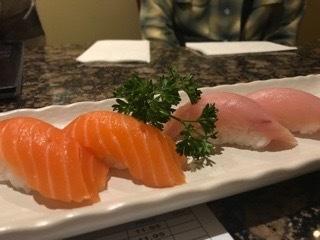 この寿司、美味しい!