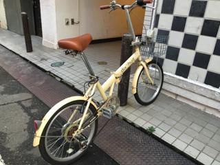 3号機の安物自転車