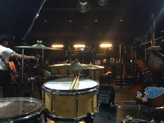 ドラムからの眺め