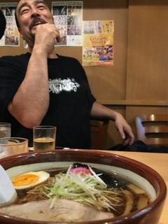 朝5時のラーメン with 山崎氏